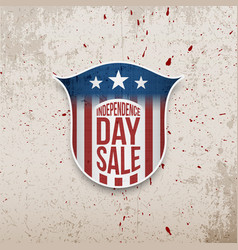 Usa independence day grunge background vector