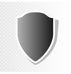 shield sign new year vector image