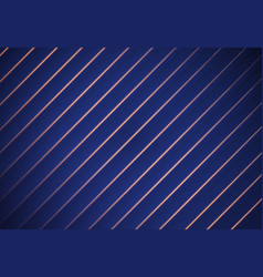 blue striped background paper overlap vector image