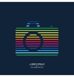 Abstract Creative concept icon of photo vector image