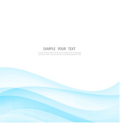 abstract white background with blue vector image