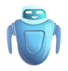 chatbot icon cartoon style vector image