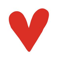 Heart romantic love graphic vector