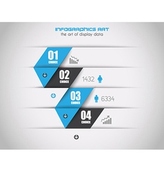 Infographics concept background to display your vector image