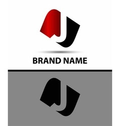 Logo j letter vector