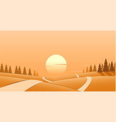Road to hope vector