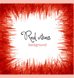 abstract red grunge background with place for your vector image