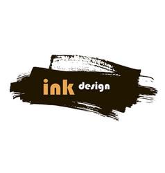 spot ink vector image vector image