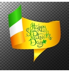 St Patrick s Day Lettering vector image