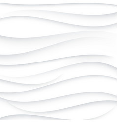 Grey wavy lines on white backgroundabstract vector
