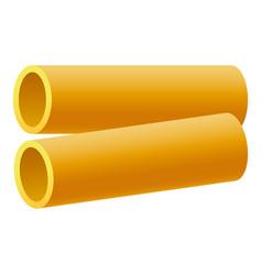 kanelone pasta icon realistic style vector image