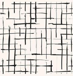 Monochrome grunge checkered texture vector