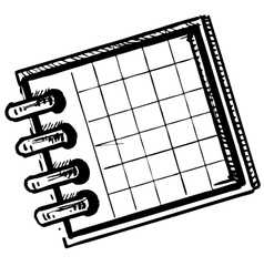 Organizer or planner vector
