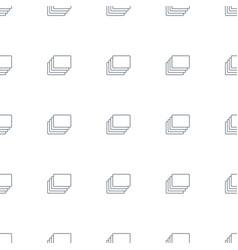 Photos icon pattern seamless white background vector