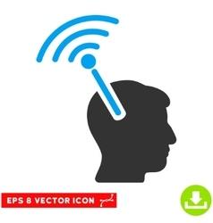 Radio Neural Interface Eps Icon vector