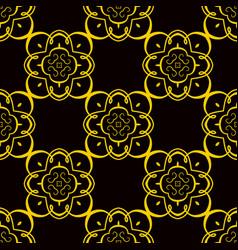 Retro seamless pattern vector