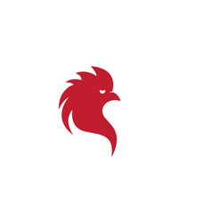 rooster icon vector image