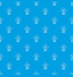solar energy pattern seamless blue vector image