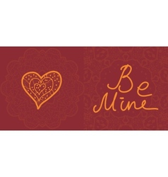 Valentine cards design editable vector