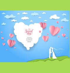 wedding day vector image