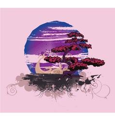 japanese tshirt design vector image vector image