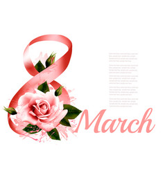 international women day celebration holiday vector image vector image