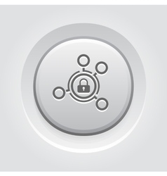 Advanced Security Solutions Icon vector
