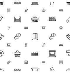 Back icons pattern seamless white background vector