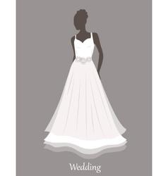 Bride sihlouette vector
