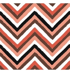 Chevron salmon seamless pattern vector