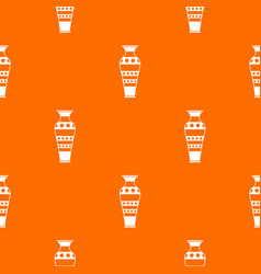 egyptian vase pattern seamless vector image