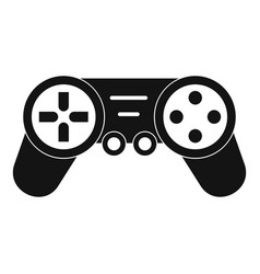 Joystick drone control icon simple style vector