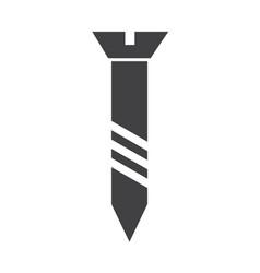 screw icon symbol vector image