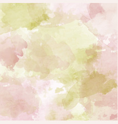 watercolor pastel background vector image