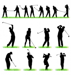 golf vector image vector image