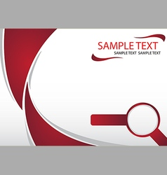 Abstract Brochure Template 01 vector image