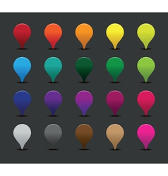 Colourful pointers vector