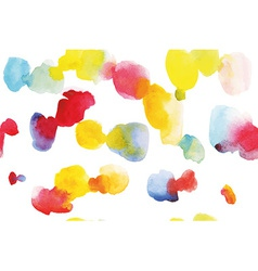 Watercolor pattern abstraction vector