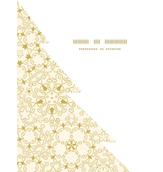Abstract swirls old paper texture christmas tree vector