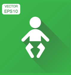 baby icon business concept child pictogram on vector image