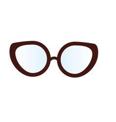 glasses to use in the eyes vector image