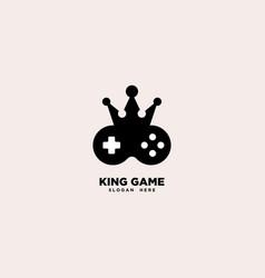 King game logo template vector