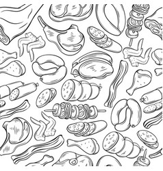 meat products vector image