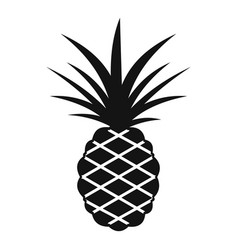pineapple icon simple style vector image