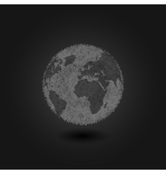 Pollution environment planet Earth concept vector image