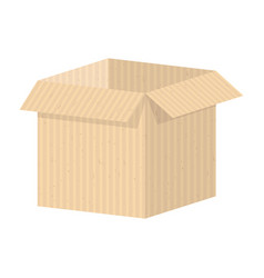 Set of packing boxes vector