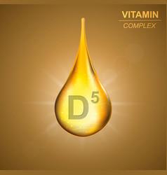 vitamin complex background vector image