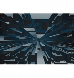 abstract building background vector image vector image