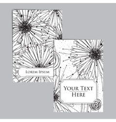 Booklet with intricate pattern vector