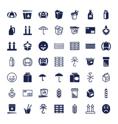 49 pack icons vector